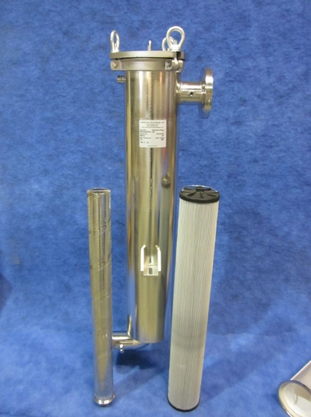 Custom Coreless Lube Oil Filter Vessel