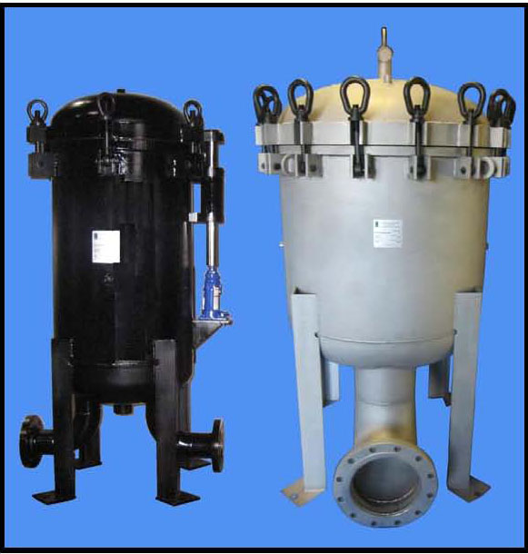 Multi-Round Bag Filter Vessels