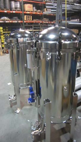 Stainless Steel Multi-Bag Filter Housing