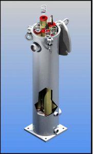 Industrial Cartridge Filter Housing