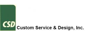 Custom Service & Design logo