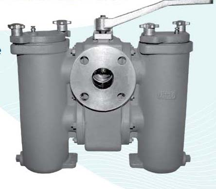 Cast Duplex Basket Strainer