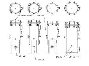 Cartridge Filter Vessel Styles