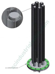 "10"" Aluminum Immersion Heater"
