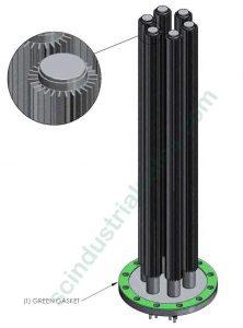 """10"""" Aluminum Immersion Heater"""