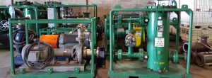 High Velocity Oil Flushing Equipment