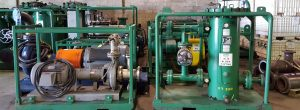 High Velocity Oil Flushing Equipment