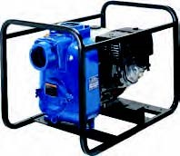 Portable Self-Priming Engine Driven Trash Pumps
