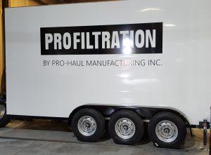 Oil Processor Cargo Trailer