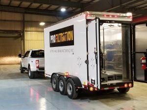 Transformer Oil Dryout Trailer