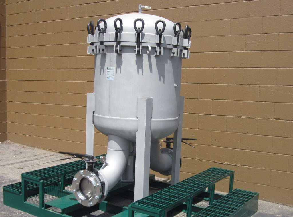 Multi Bag Filter vessel Skid Mounted