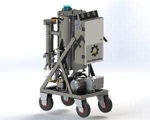 POP3 Vacuum Dehydrator