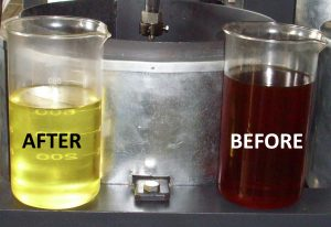 Transformer Oil Before After FE Regen