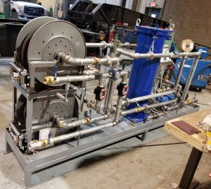Transformer Oil Dryout Skid