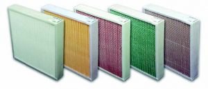 Mini Pleat Air Filter Panels