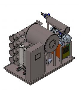High Vacuum Oil Purifier