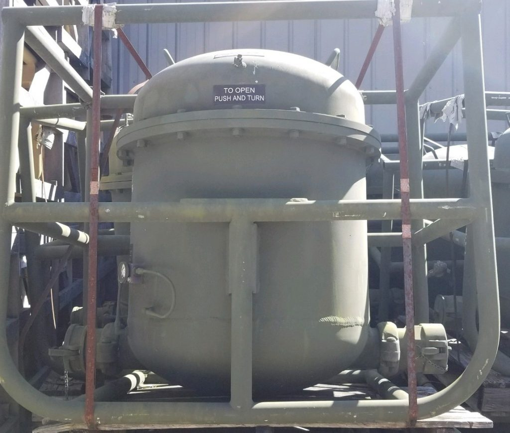 350 GPM Fuel Coalescing Vessel