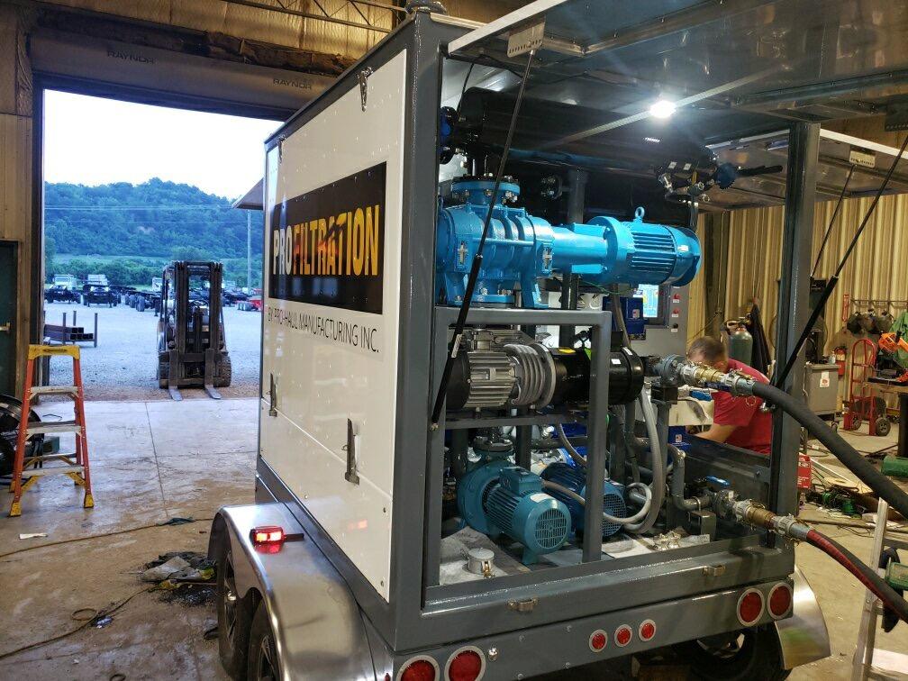 Mobile Transformer Oil Purifier