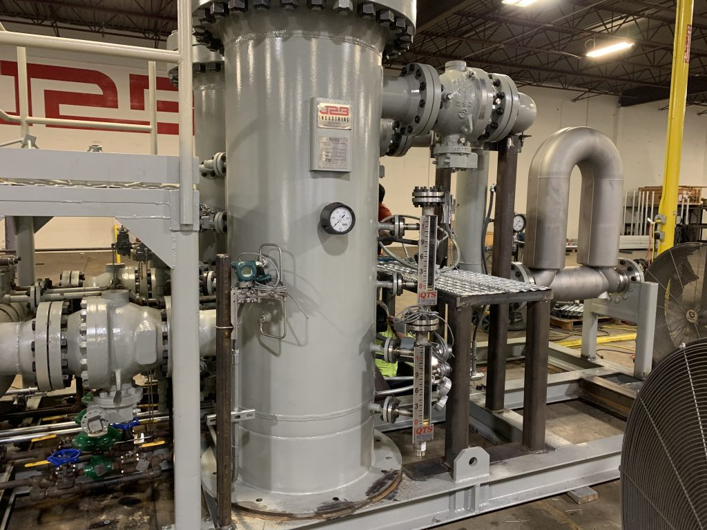 Natural Gas Conditioning Skid
