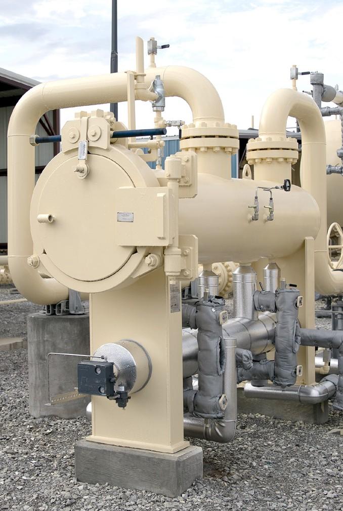 Horizontal Gas Coalescing Vessel