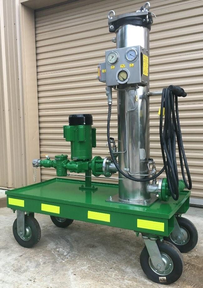 8 GPM Portable Oil Filtration