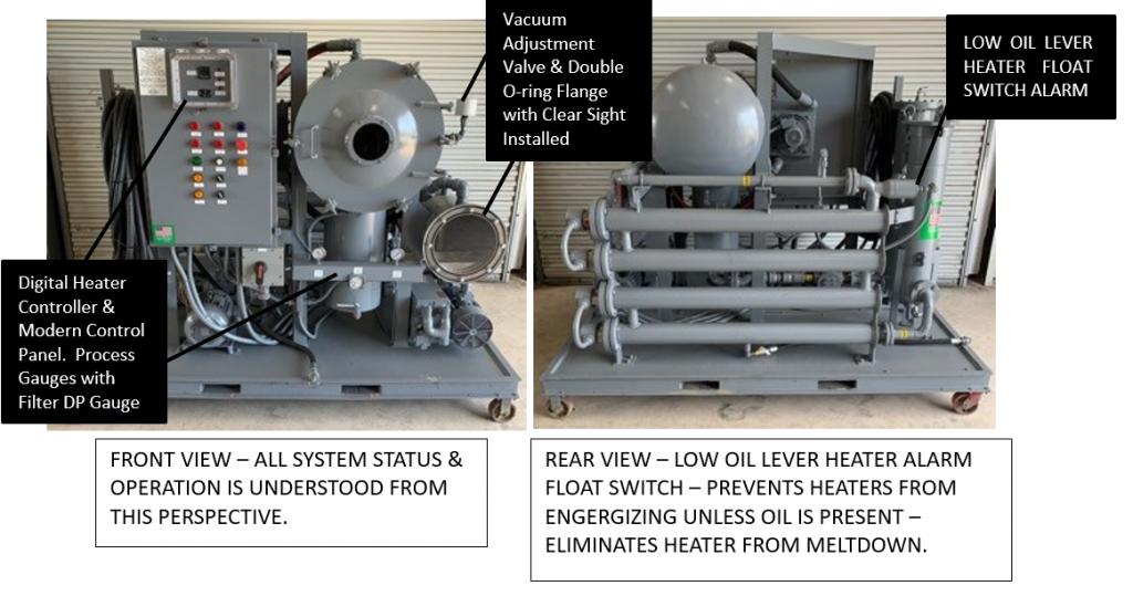 Gulfgate Vacuum Dehydrator Upgrades